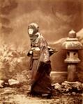 Woman in Winter Costume 1854- (p. 16, Japan: Photographs 1905); attributed to Felix Beato (Italian-British Photographer, 1832-1909); 1854; 4585