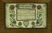 """Taufschien"" (Baptismal Certificate for Jacob Bielman); Unknown (American, 18th century); 1785; 710"