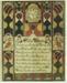 Birth and Baptismal Certificate (fraktur); Attributed to Samuel Bentz; dated 1833; 215