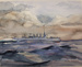 USS Dupont - A Sketch for John Merril; Henry Mylin Kieffer (American 1890-1984); Unknown; 2013.00.12
