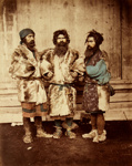 A Group of Ainoes the Aboriginies of Japan; attributed to Felix Beato (Italian-British Photographer, 1832-1909); n.d.; 4540
