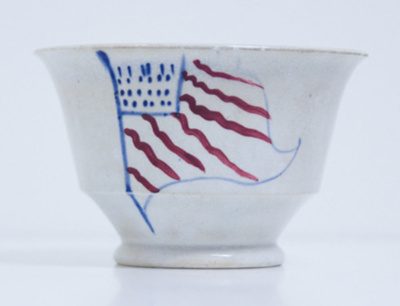 Cup (Tea bowl) ; Unknown (English); 19th Century; 2013.00.143