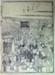 Japanese print of crowded market scene; Toto Saijiki (Japanese printmaker); n.d.; EC160JP