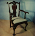 Armchair; Unknown; Early 20th Century; ec1014