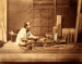 A Japanese Carpenter at Work; Unknown; n.d.; 4961