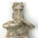 [Standing figure playing instrument]; c. 50 BC–AD 250; Mexico; 5170