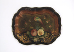 Painted Tinware Tray; Unknown; 19th century; 8904