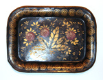 Painted Tinware Tray; Unknown (American, 19th century); 1865-1925; 8903