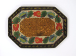 Painted Tinware Tray; Unknown; 19th century; 8911