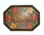 Painted Tinware Tray; Unknown; 19th century; 8908