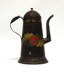 Painted Tinware Coffee Pot; Unknown; 19th century; 8929