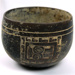 [bowl with three carved panels]; c. 250-900 AD; Guatemala; 5212