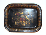 Painted Tinware Tray; Unknown; 1865-1925; 8912