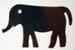 Elephant Quilt Template; 2015.00.1070