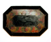 Painted Tinware Tray; Unknown; 19th century; 8916