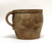 Pot (or crock) with handle; Fredrick H. Cowden (American, 19th century); 1880-1900; 2014.00.120