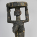 Seated Female Statue; African, Yoruba peoples, Nigeria; 7089