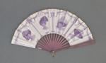 Folding fan, advertising hats for Madame Louise, Regent Street ; LDFAN2019.15