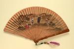 Brisé Fan; c. 1900; LDFAN2011.29