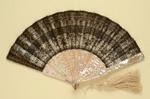 Folding Fan; c. 1870s; LDFAN2003.17.Y