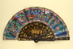Cantonese Folding Fan; c. 1860-1870; LDFAN1994.246