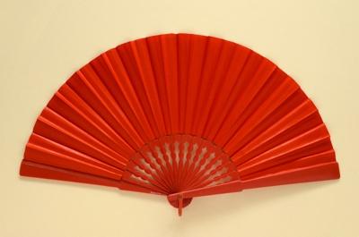 Folding Fan; Brevettato; 1970s; LDFAN1994.29