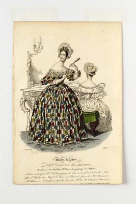 Fashion Plate; 1836; LDFAN1990.105