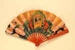 Advertising fan for the Berkeley Hotel; LDFAN2013.32.HA