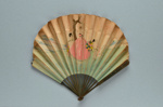 Folding fan advertising Les Ambassadeurs, Monte Carlo c. 1930; LDFAN2013.33.HA
