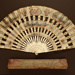 Folding Fan & Box; c. 1900 - Fan; LDFAN2008.45.A & LDFAN2008.45.B