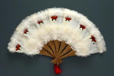 Feather Fan; c. 1980; LDFAN2010.111