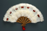 Feather Fan; c. 1980; LDFAN2010.111