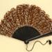 Fontange Feather Fan; c. 1920; LDFAN2009.52