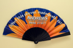 Advertising fan for Andrews (Portable Air Conditioning Hire); c.2002; LDFAN2003.438