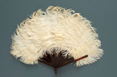 Feather Fan; c. 1920; LDFAN1994.92