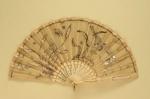 Folding Fan; c. 1900; LDFAN2012.16