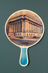 Advertising fan for Greenwich Savings Bank, New York; LDFAN1989.6