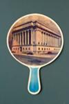 Advertising fan for Greenwich Savings Bank, New York; LDFAN1989.6