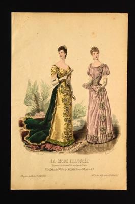 Fashion Plate; Anais Toudouze, Bonnard; 1891; LDFAN1990.48