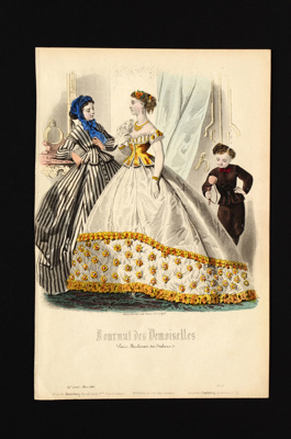 Fashion Plate; 1866; LDFAN1990.109