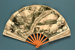 Advertising fan for Hotel d'Angleterre, Biarritz; 1903; LDFAN2013.41.HA