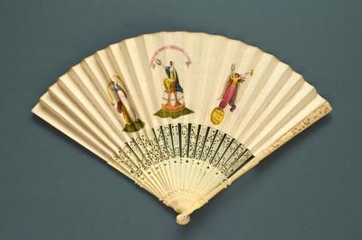 Folding Fan; c. 1740 (monture); LDFAN2010.123
