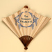 Advertising fan for Restaurant Frascati; Eventails Chambrelent; c. 1925; LDFAN2012.14