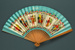 Advertising fan for British Overseas Airways Corporation (BOAC) - Speedbird; Adelman, K. M; c. 1950s; LDFAN1998.27