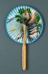 Cockade Fan; c. 1980; LDFAN1994.59