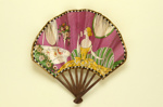 Folding fan advertising Flornicia perfume for Larbalestier; Eventails Chambrelent, Maurice Motet; c.1920; LDFAN2011.42
