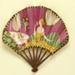 Folding fan advertising Flornicia perfume for Larbalestier; Eventails Chambrelent; c.1920; LDFAN2011.42