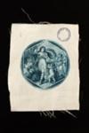 White Satin Fan Leaf ; LDFAN1986.55