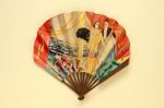 Advertising fan for Royal Adelaide Gallery Restaurant; c.1920; LDFAN1994.98