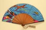 Folding Fan; c. 1920; LDFAN2001.30
